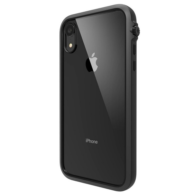 Catalyst Impact Protection Case iPhone XR Zwart Transparant 07