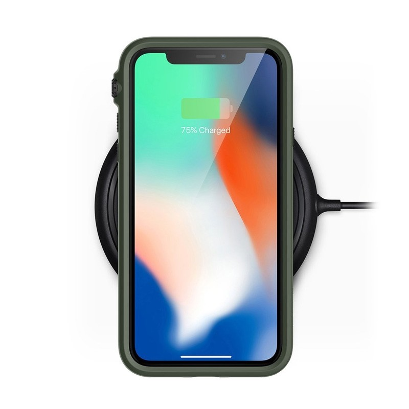 Catayst iPhone X/Xs Impact Protective Case Army Green - 3