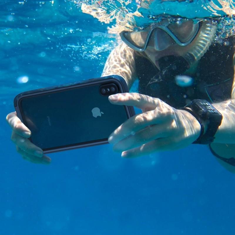 Catalyst Waterproof Case iPhone XS Max Zwart - 10