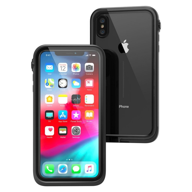 Catalyst Waterproof Case iPhone XS Max Zwart - 3