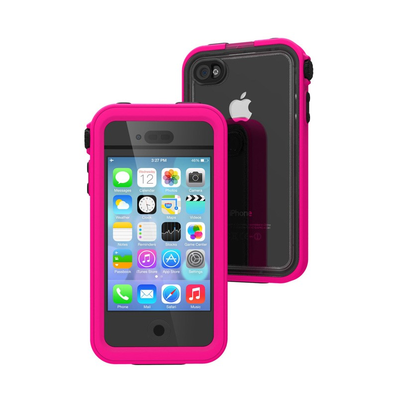 Catalyst Waterproof iPhone 4/4S Case Pink - 2