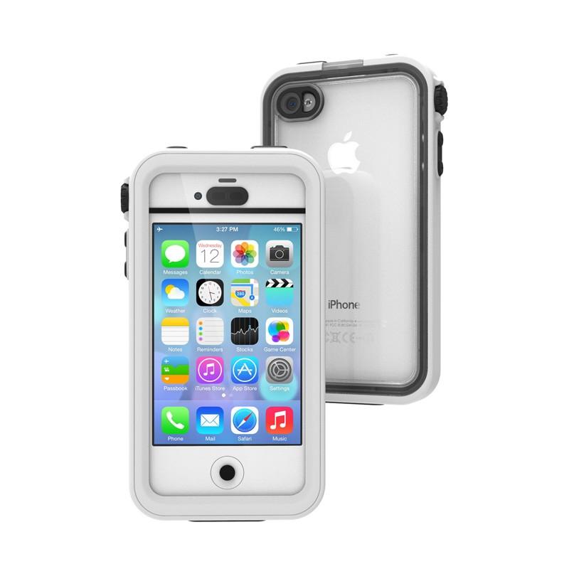 Catalyst Waterproof iPhone 4/4S Case White - 1