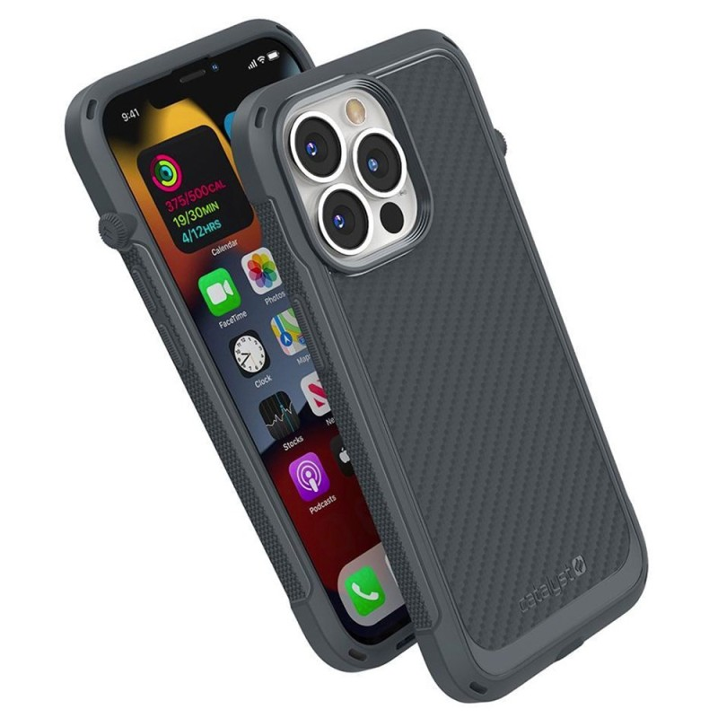 Catalyst Vibe Case MagSafe iPhone 13 Pro Grijs 01