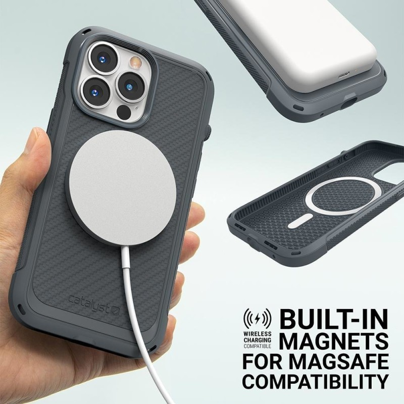 Catalyst Vibe Case MagSafe iPhone 13 Pro Grijs 02