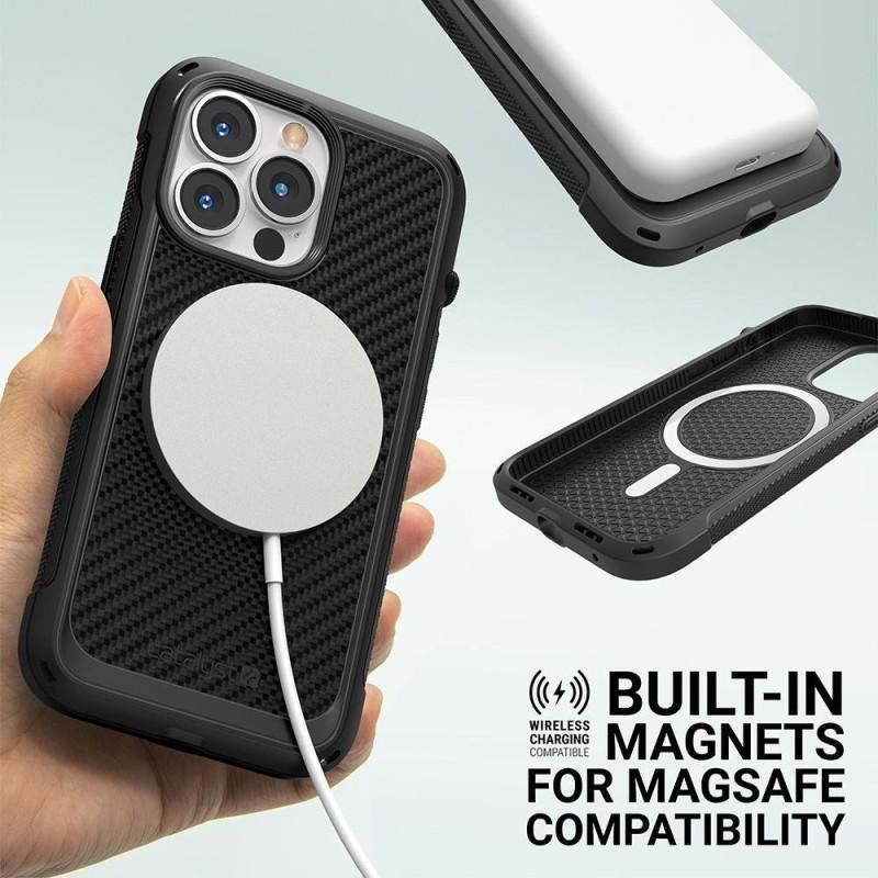 Catalyst Vibe Case MagSafe iPhone 13 Pro Zwart 02