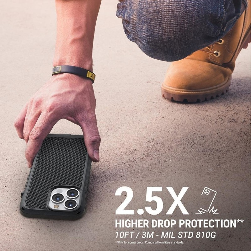 Catalyst Vibe Case MagSafe iPhone 13 Pro Zwart 05