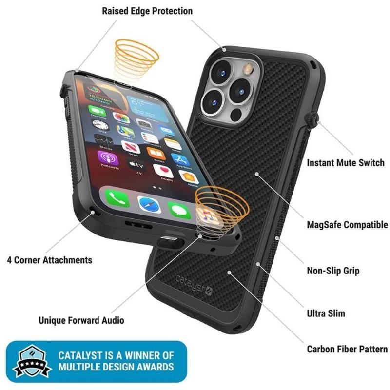 Catalyst Vibe Case MagSafe iPhone 13 Pro Zwart 03