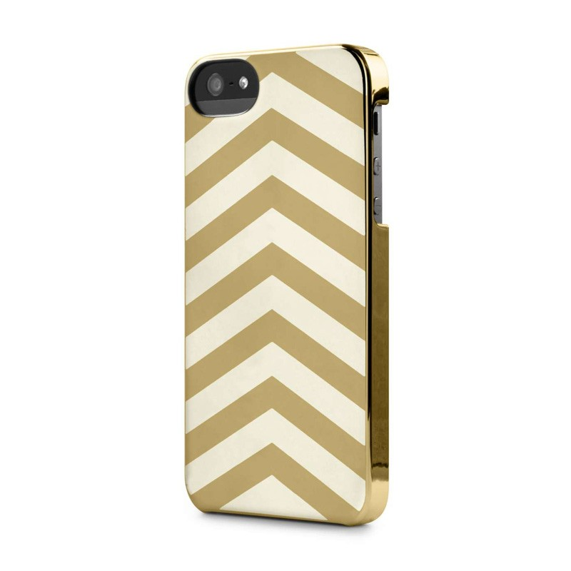 Incase Chevron Snap Case iPhone 5/5S White/Gold