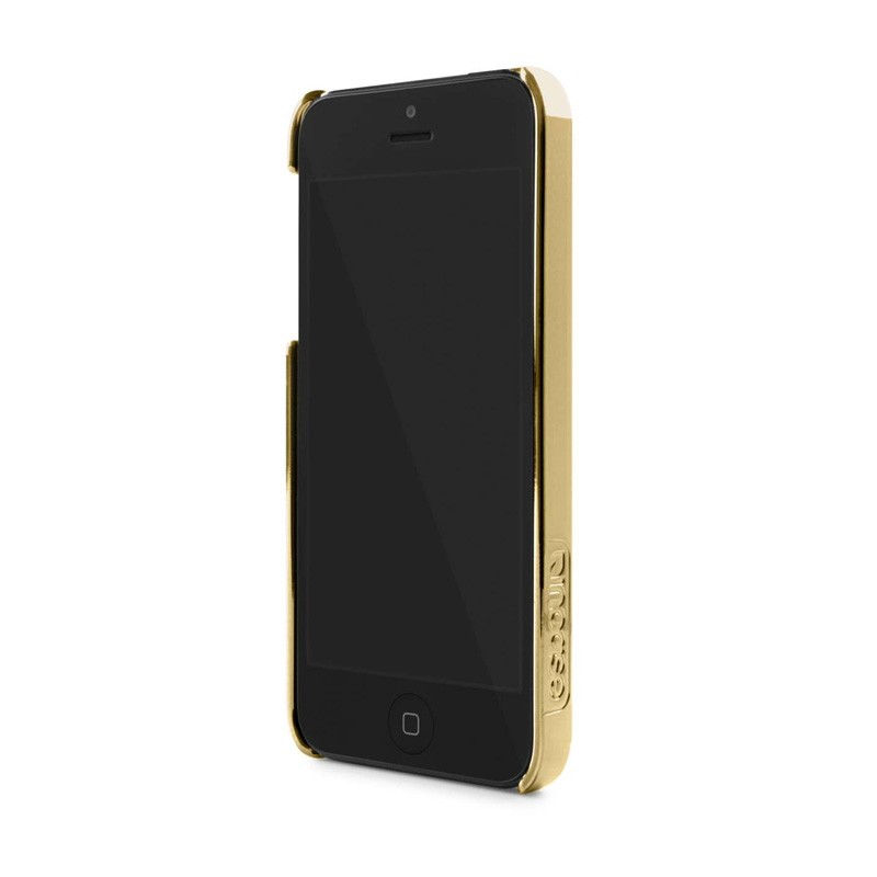 Incase Chevron Snap Case iPhone 5/5S White/Gold - 3