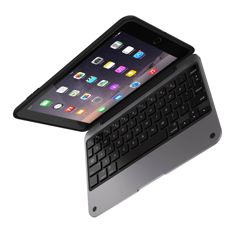 ClamCase Pro iPad mini 1/2/3 Black/Space Gray - 6