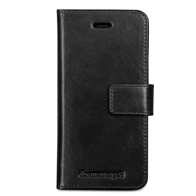 DBramante1928 - Copenhagen 2 Leather Folio iPhone 7 Black 01