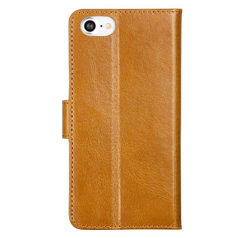 DBramante1928 - Copenhagen 2 Leather Folio iPhone 7 Tan 02