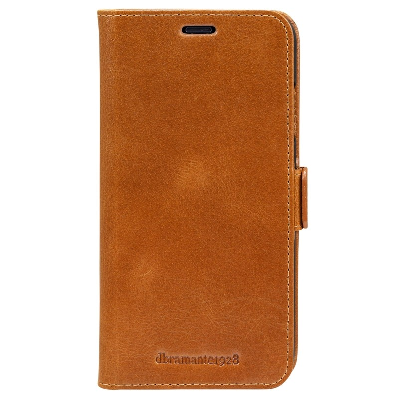 Dbramante1928 Copenhagen iPhone XR Wallet Bruin 01