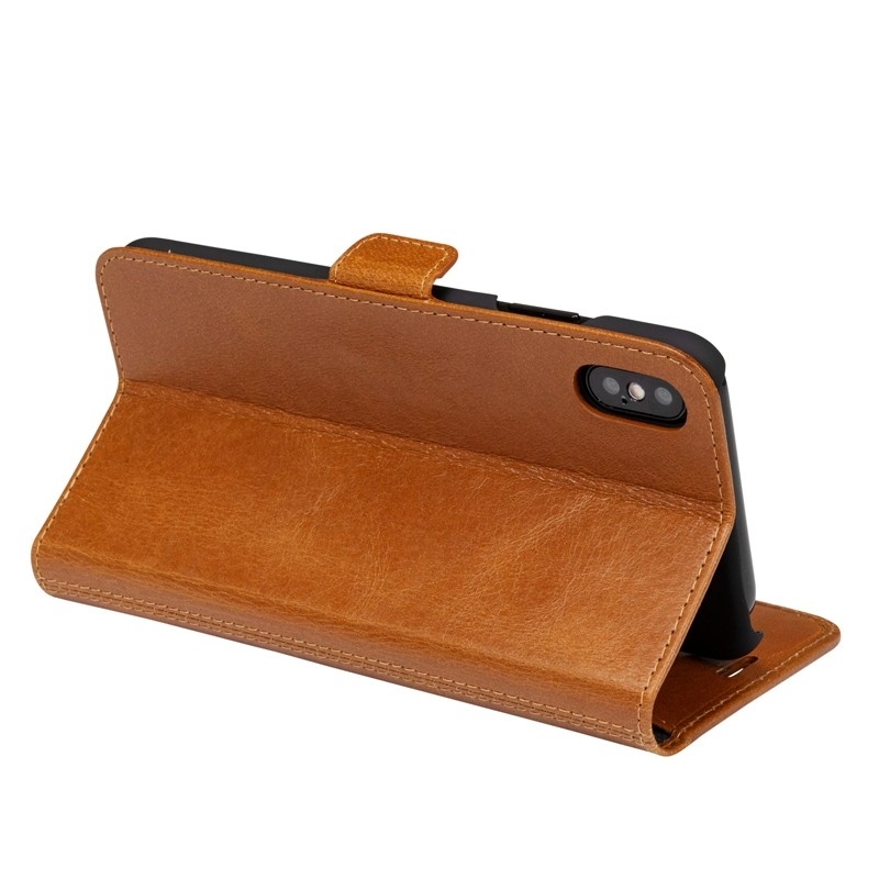 Dbramante1928 Copenhagen iPhone XR Wallet Bruin 05