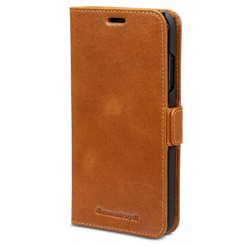 Dbramante1928 Copenhagen iPhone XR Wallet Bruin 07