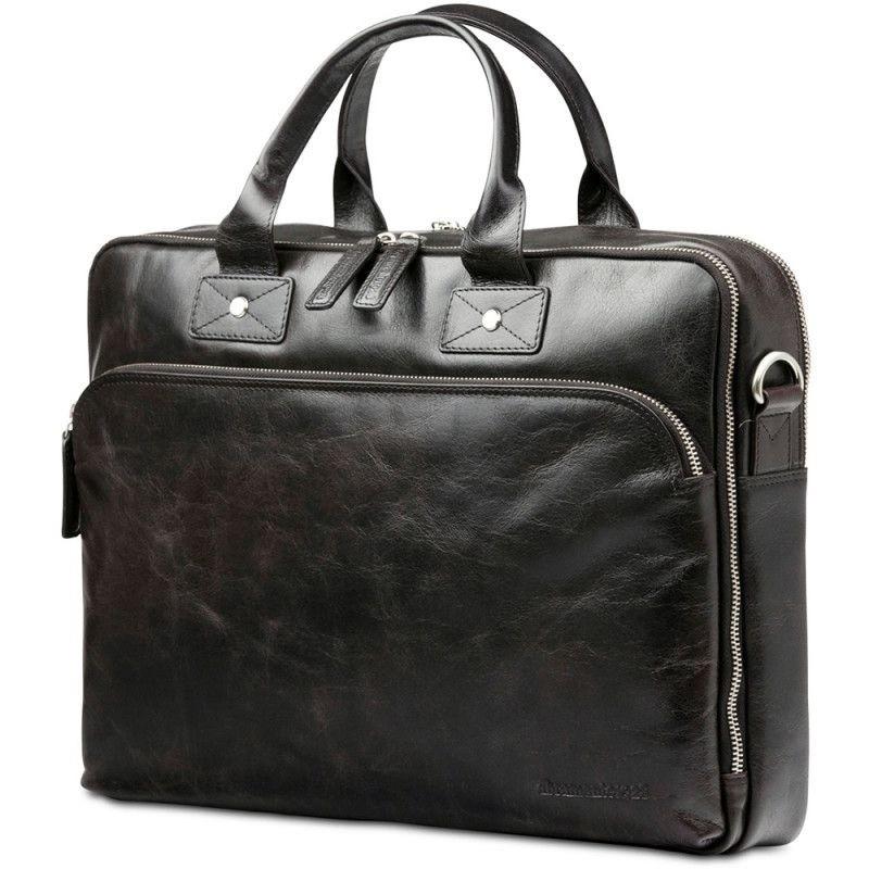Dbramante1928 Kronborg Lederen Laptoptas 16 inch Dark Brown - 6