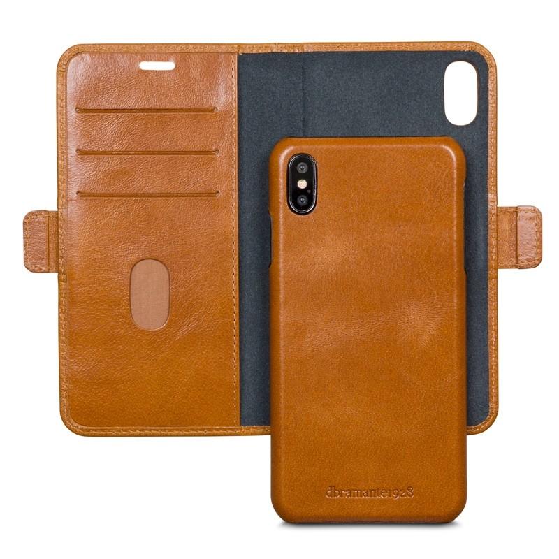 Dbramante1928 Lynge 2 iPhone XS Max Hoesje Bruin 03