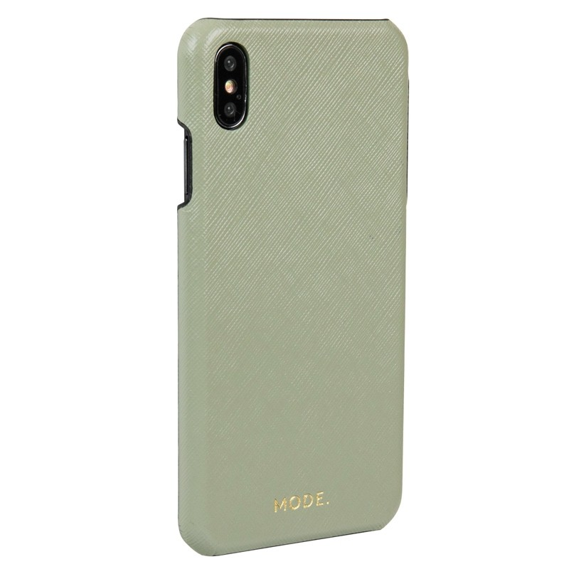Dbramante1928 London iPhone XR Hoesje Olijf 03