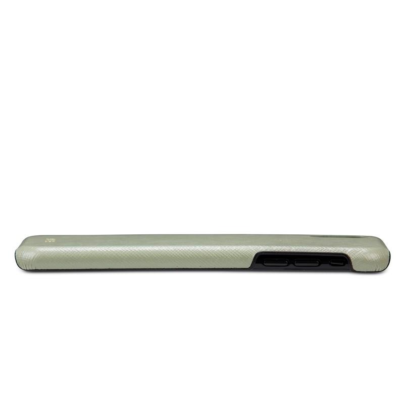 Dbramante1928 London iPhone XR Hoesje Olijf 05