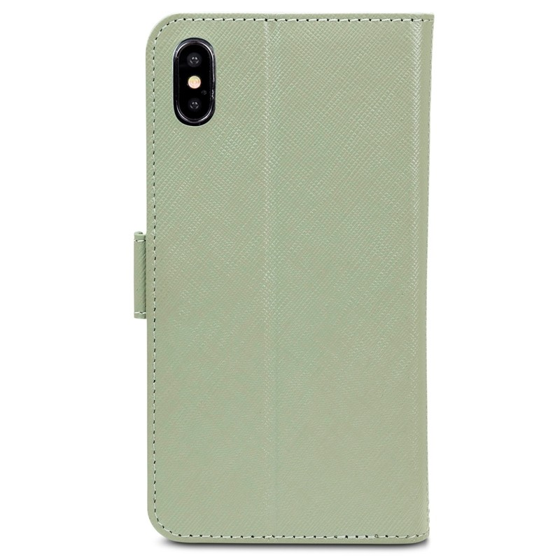 Dbramante1928 Milano iPhone XS Max Hoesje Olijfgroen 02