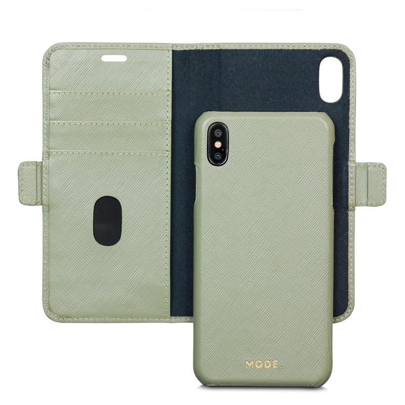 Dbramante1928 New York iPhone XS Max Hoesje Olijfgroen 03