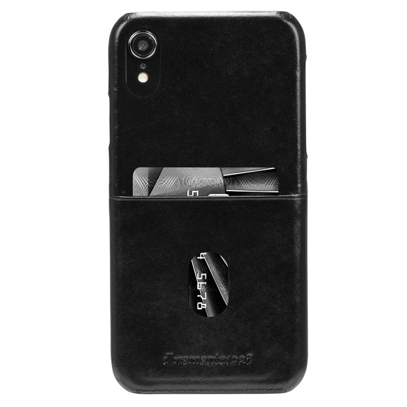 Dbramante1928 Tune CC iPhone XR Cover Zwart 01