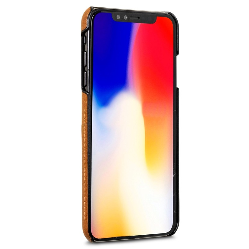 Dbramante1928 Tune CC iPhone XS Max Hoesje Tan Bruin 02