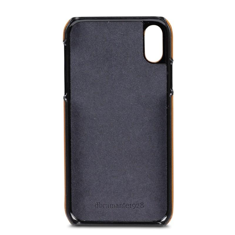 Dbramante1928 Tune CC iPhone XS Max Hoesje Tan Bruin 06
