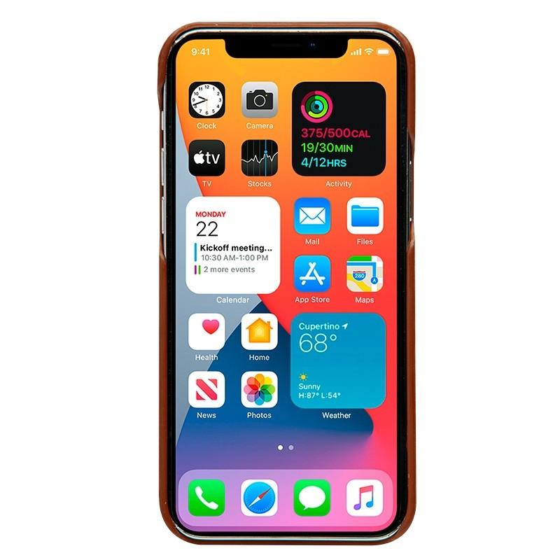 Dbramante1928 - Lynge iPhone 12 Mini 5.4 inch Wallet Bruin 05