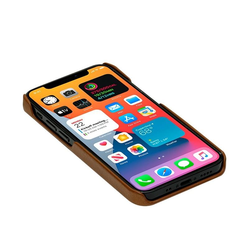 Dbramante1928 - Lynge iPhone 12 Mini 5.4 inch Wallet Bruin 07