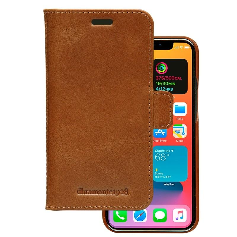 Dbramante1928 - Lynge iPhone 12 Mini 5.4 inch Wallet Bruin 02