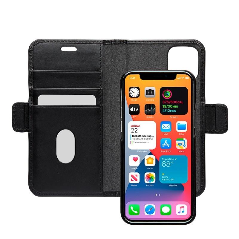 Dbramante1928 - Lynge iPhone 12 Mini 5.4 inch Wallet Zwart 01