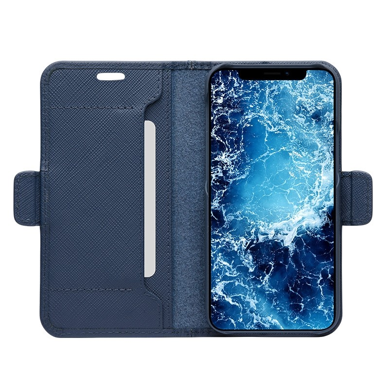 Dbramante1928 Milano Wallet iPhone 12 Mini Ocean Blue - 5