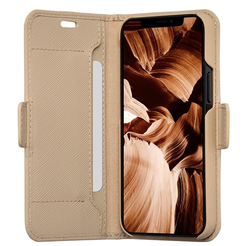 Dbramante1928 Milano Wallet iPhone 12 Mini Sahara Sand - 1