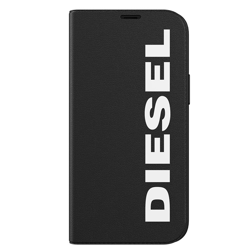 Diesel Booklet Case iPhone 12 Mini zwart-wit 07