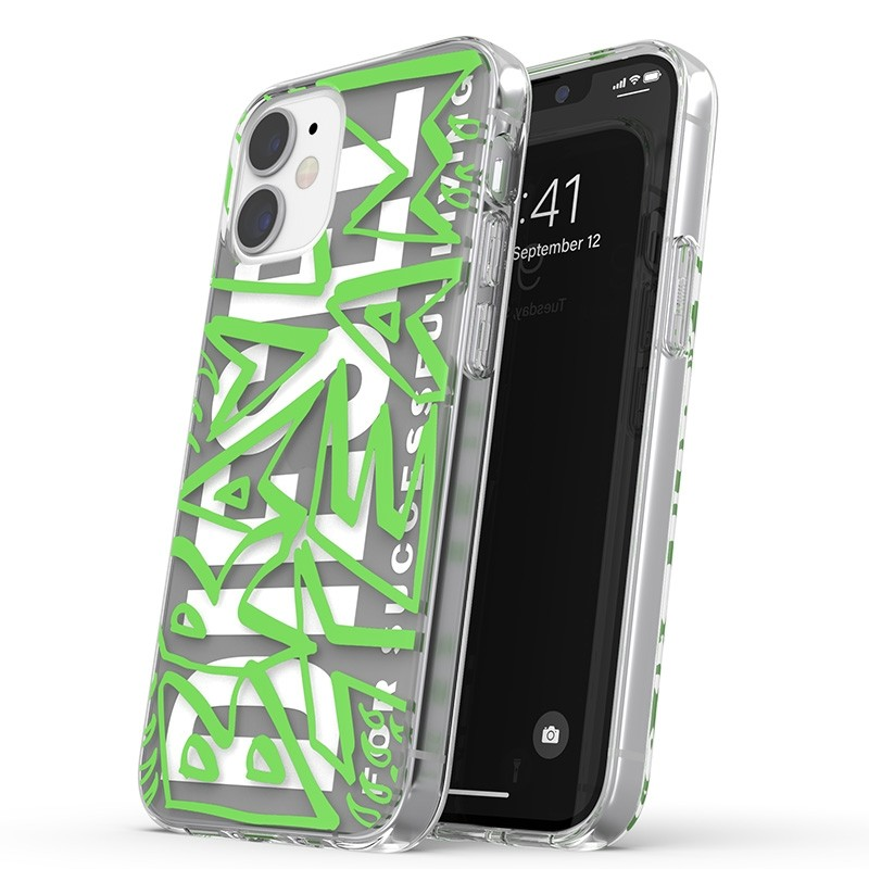 Diesel Snap Case Clear iPhone 12 Mini 5.4 clear green 01