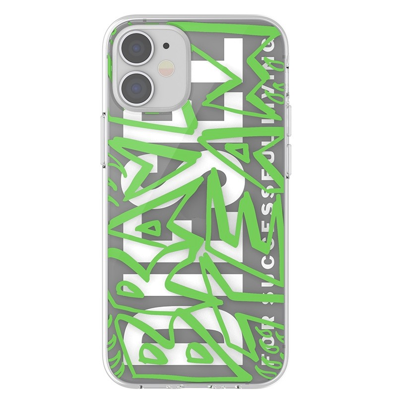 Diesel Snap Case Clear iPhone 12 Mini 5.4 clear green 02