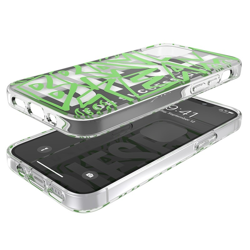 Diesel Snap Case Clear iPhone 12 Mini 5.4 clear green 05