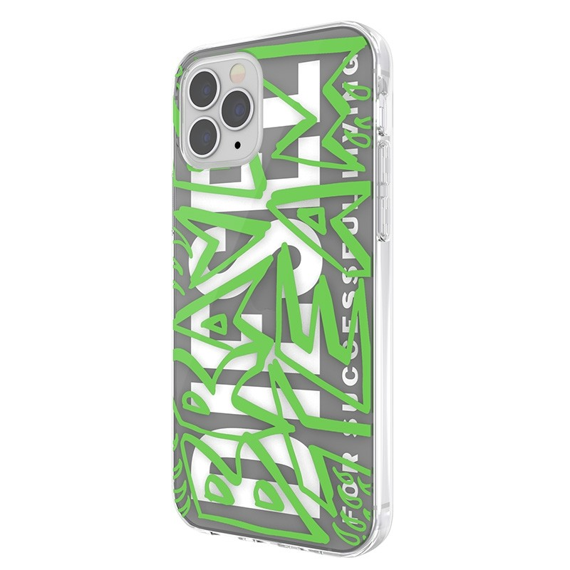 Diesel Snap Case Clear iPhone 12 / 12 Pro 6.1 green white 04