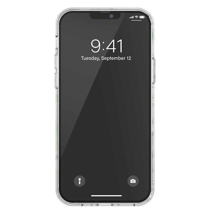 Diesel Snap Case Clear iPhone 12 / 12 Pro 6.1 clear green white 04