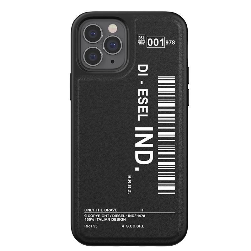 Diesel Moulded Case iPhone 12 / 12 Pro 6.1 zwart/wit 02
