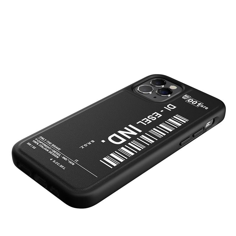 Diesel Moulded Case iPhone 12 / 12 Pro 6.1 zwart/wit 06