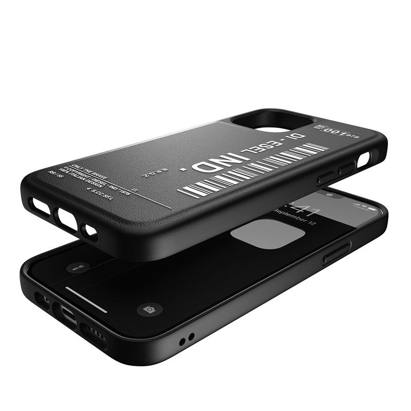 Diesel Moulded Case iPhone 12 / 12 Pro 6.1 zwart/wit 07