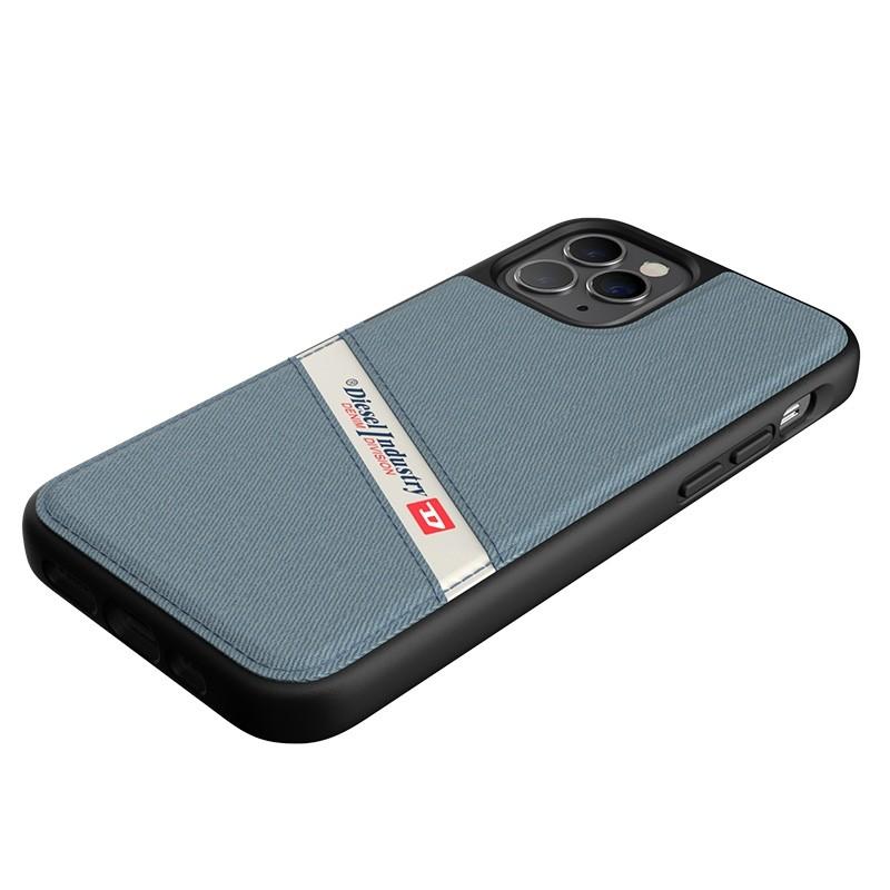 Diesel - Moulded Case iPhone 12 / 12 Pro 6.1 blauw/wit/zwart 07