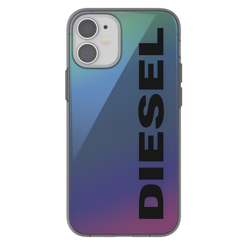 Diesel Snap Case Clear iPhone 12 Mini 5.4 Holo Logo 02