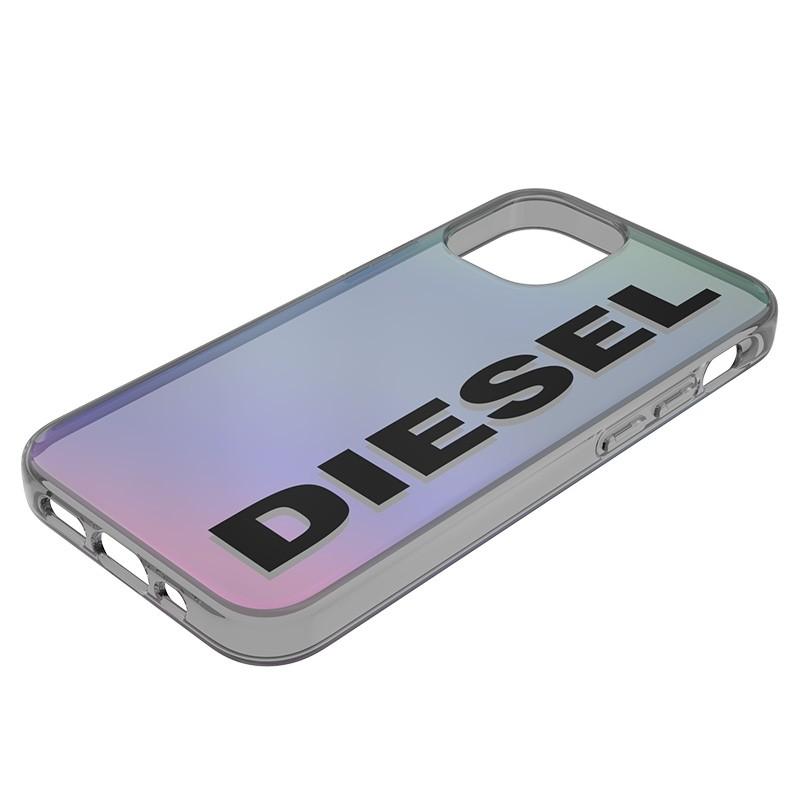 Diesel Snap Case Clear iPhone 12 Mini 5.4 Holo Logo 07