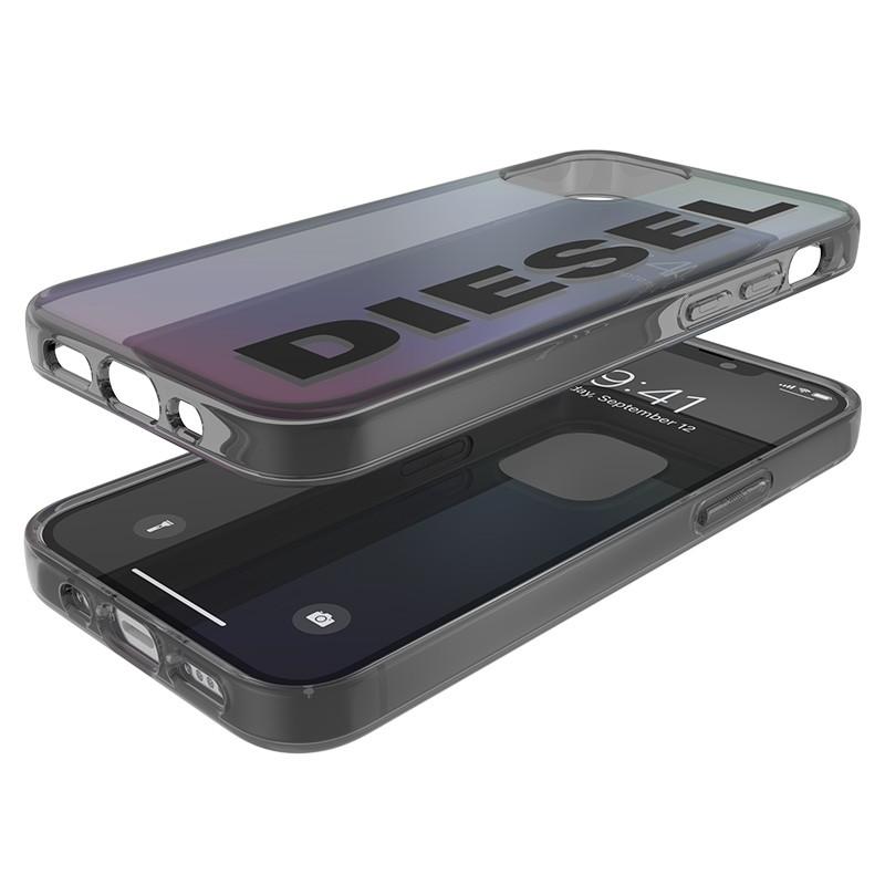 Diesel Snap Case Clear iPhone 12 Mini 5.4 Holo Logo 05