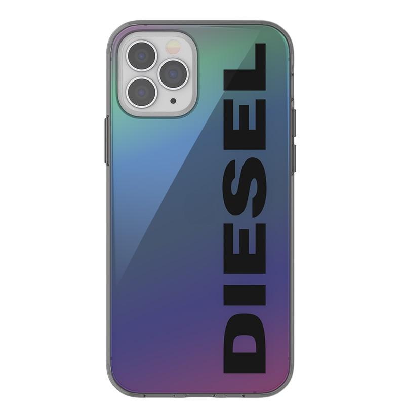 Diesel Snap Case Clear iPhone 12 en iPhone 12 Pro 5.4 Holo Logo 02