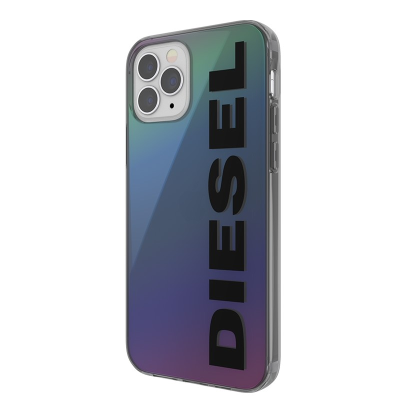 Diesel Snap Case Clear iPhone 12 en iPhone 12 Pro 5.4 Holo Logo 03