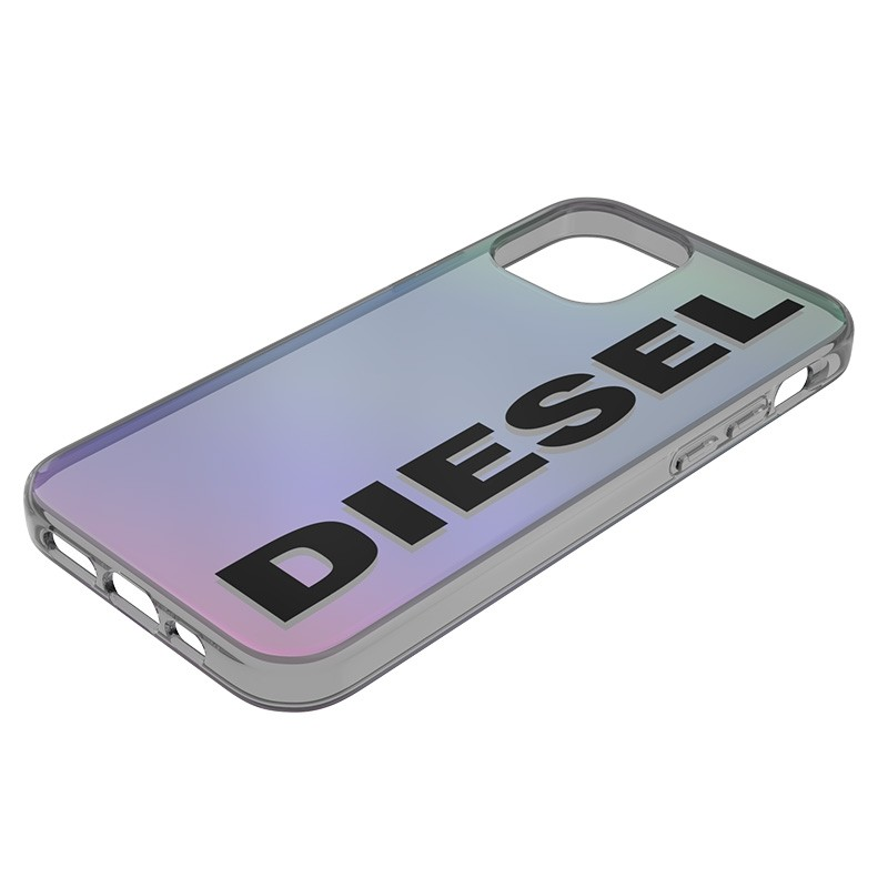 Diesel Snap Case Clear iPhone 12 en iPhone 12 Pro 5.4 Holo Logo 05